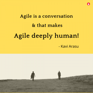 Agile is a conversation